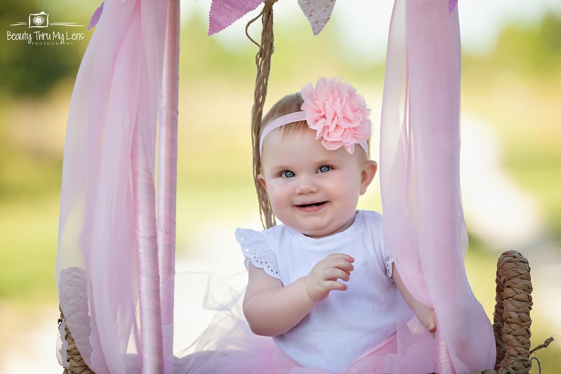 Harper's First Birthday Session/ Tampa Children's Photographer