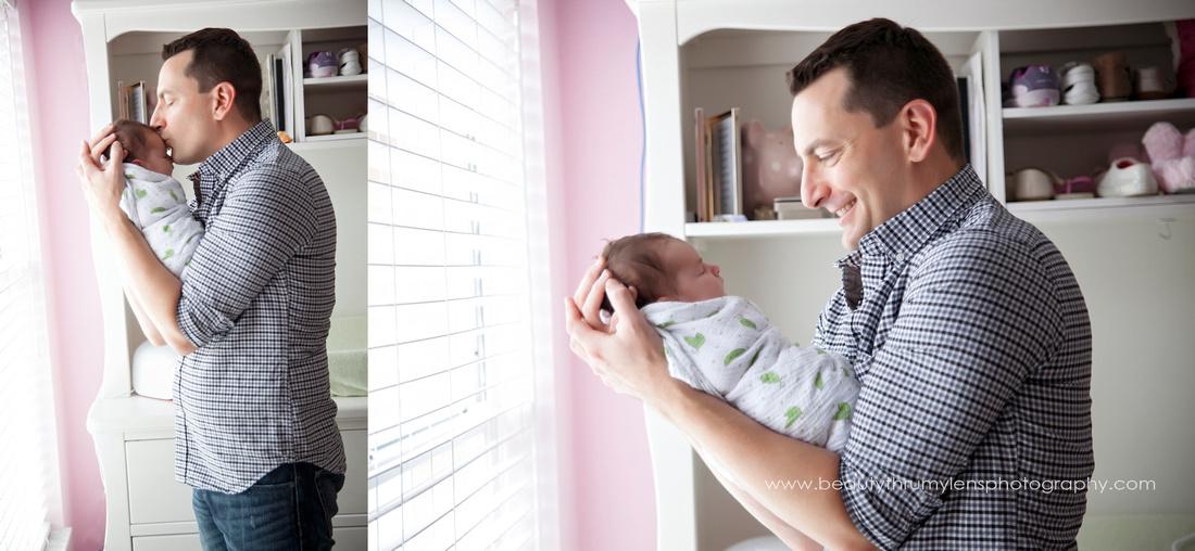Lifestyle Newborn Family Session/Tampa Newborn Photographer
