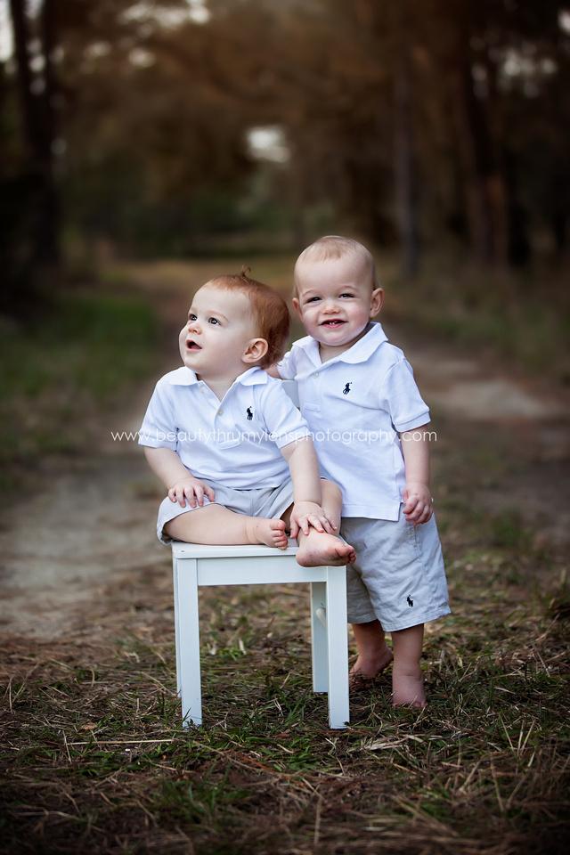 Twins First Birthday/ Tampa Children's Photographer