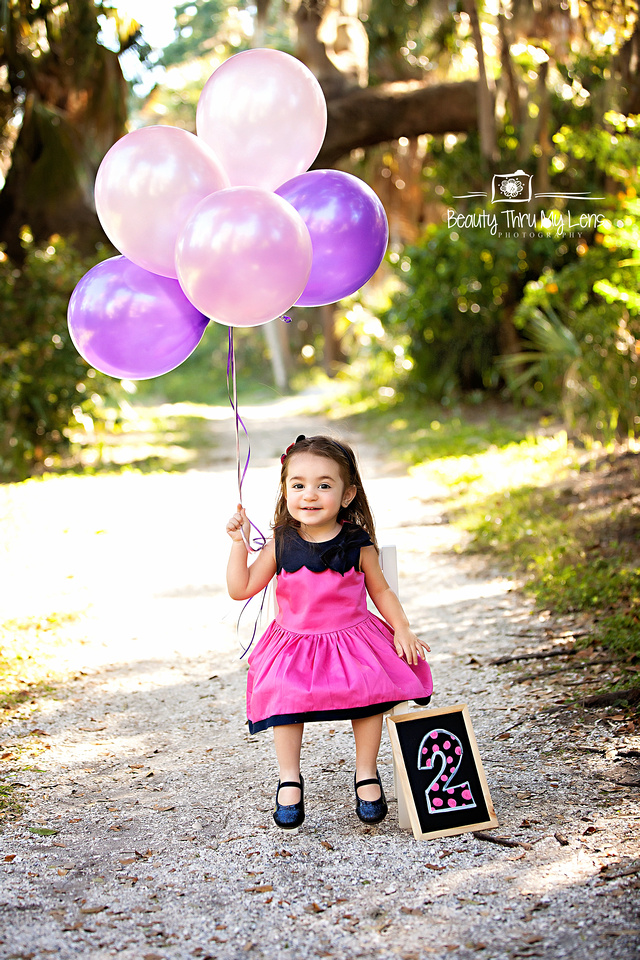 2 Year Old Birthday Session