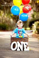 Peyton's First Birthday Session/ Tampa Photographer