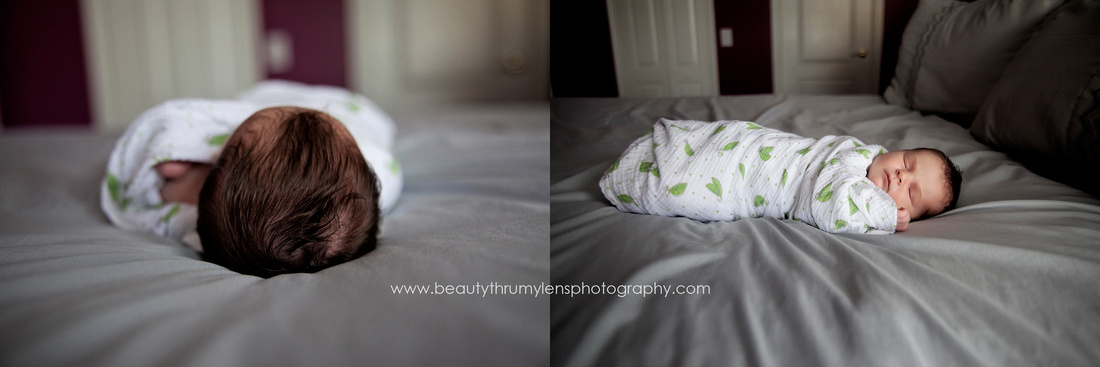 Lifestyle Newborn Family Session/Tampa Newborn Photographer