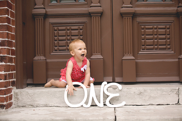 Baby Norah is ONE!