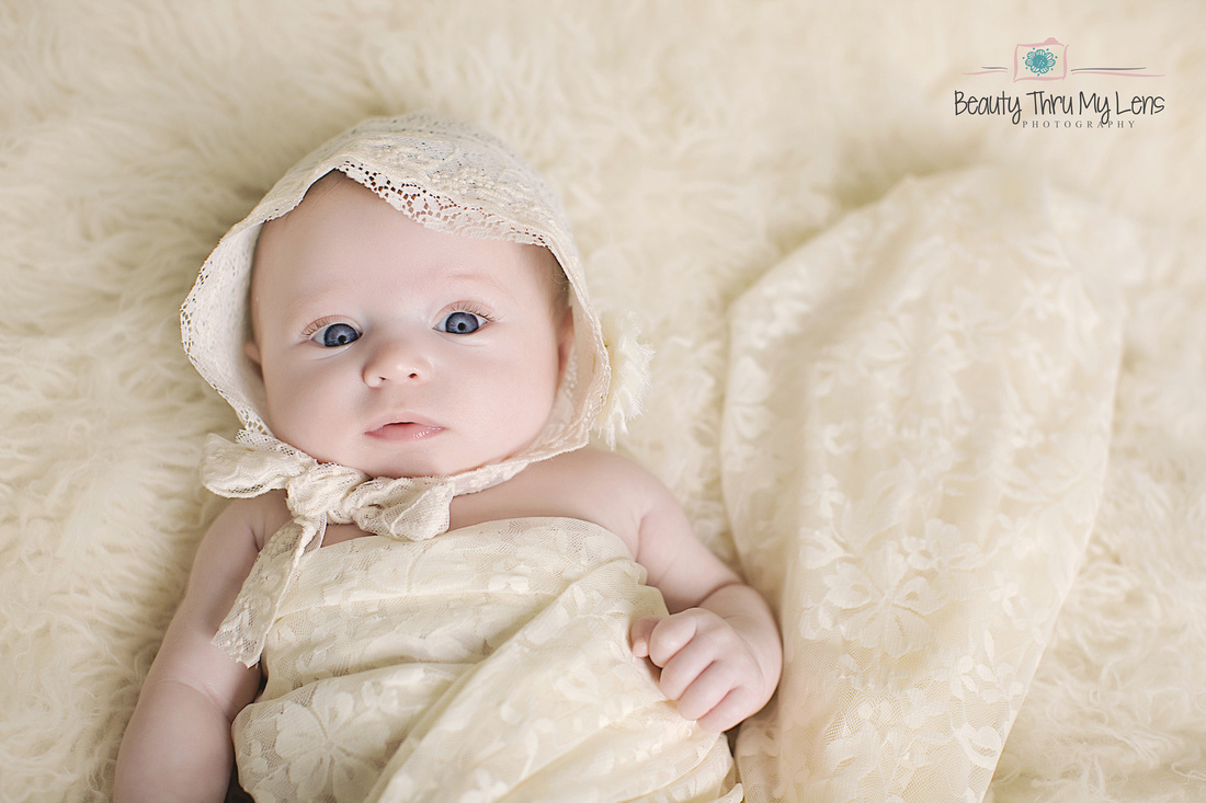 Tampa newborn photographer baby valentina 2 months old